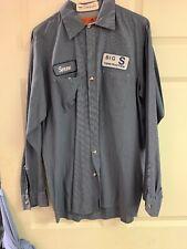 Vintage 90s  Mechanic  Auto Shop Shirt Men's Medium Long Sleeve (Soren)