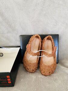 New Mini Melissa Campana Crochet Mary Jane Flat (Toddler)