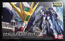 2014 Bandai Mobile Suit Gundam Real Grade RG 1/144 Wing Gundam Zero EW Popy NY