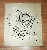 Camille Rose Garcia Art Print Elephant Poster Lil Elorphant S/# 40 Mark Ryden
