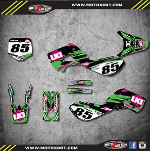 Kawasaki KX 65 / 2000 - 2016 full custom graphics kit DUKE style / stickers