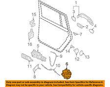 VW VOLKSWAGEN OEM Passat Rear Door-Lock or Actuator Latch Release 3C4839016B