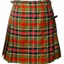 Ladies Deluxe Mini Skirt Kilt Bruce Of Kinnaird Tartan