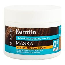 35391 Mask Keratin for Dull and Brittle Hair 300ml Dr.sante 1 Bottle