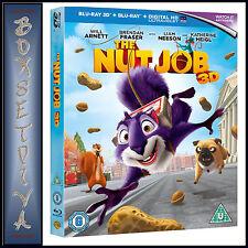 THE NUT JOB   **BRAND NEW BLU-RAY3D + BLURAY REGION FREE***