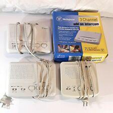 Set of 2 Novi and 2 Westinghouse Wireless Intercom System Multi Channel