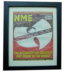 WU-TANG CLAN+NME 2000+ORIGINAL+VINTAGE+POSTER+QUALITY FRAMED+EXPRESS GLOBAL SHIP