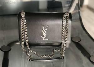 Yves Saint Laurent Sunset Medium Women's Bag - Black