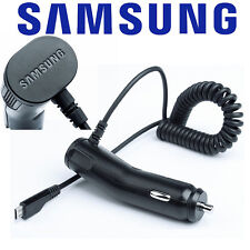 GENUINE SAMSUNG IN CAR CHARGER FOR GALAXY S7 S6 / EDGE S4 S3 ACE MINI NOTE 2 3 4
