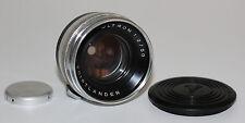 Voigtländer objetivamente lens Ultron 2/50 para prominent cámara