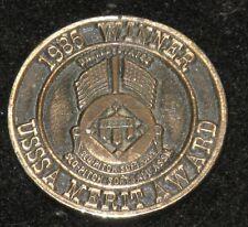 1985 USSSA Central Mass Umpires Assn Slo-Pitch Softball MERIT AWARD Coin Medal