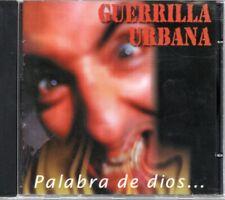 Guerrilla Urbana Palabra de dios... CD Discos Suicidas