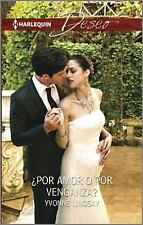 ¿Por amor o por venganza?: (By Love or by Revenge?) (Harlequin Deseo) -ExLibrary