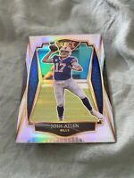 2020 Panini Select Josh Allen Silver Prizm Premier Level Buffalo Bills SP