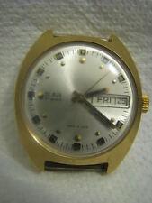 SLAVA 27 Jewels Mechanical Gold filled Watch