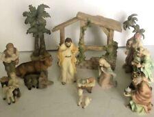 "Roman ""Seraphim Classics"" 14 Piece Nativity Set 2010"
