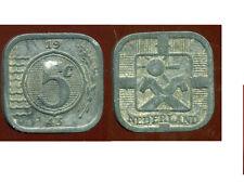 PAYS BAS WW2   5 cents 1943