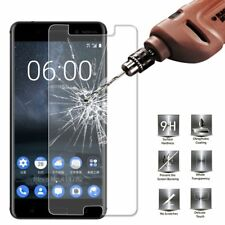 UK TEMPERED GLASS SCREEN PROTECTOR ANTI SCRATCH FILM For Microsoft Nokia 8