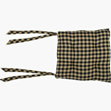 Chair Pad in Black and Tan ID 3484914