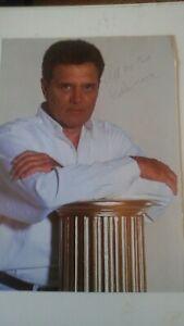 60s SINGER EDEN KANE AUTOGRAPH ON MAGAZINE PAGE