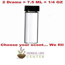 White (Arabian) Musk UNCUT Body Oil Perfume Cologne Fragrance Unisex Men 2 Drams