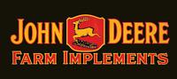 Antique John Deere Tractor Farm Implements Logo T-Shirt