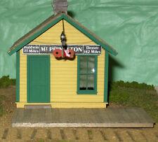 Dsp&P Mt Princeton Depot S Railroad Structure Craftman Unpaintd Wood Kit Cm51121