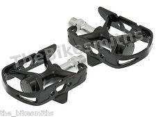 MKS AR-2 Pedals BLACK Classic Road Bike Fixed Gear Track Made in Japan AR2 Quill