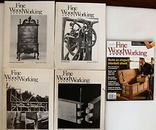 Fine Woodworking Magazine 1977 - 2009, 16 occasional issues Very Good