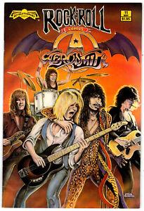 AEROSMITH (1990)  Rock N' Roll Comic 11 -1st Print  (fn)