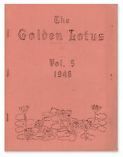 William J LESLIE / The Golden Lotus Vol 5 No 5 1948 First Edition