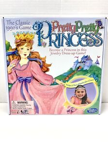 Winning Moves Games Pretty Princess Jewelry Dress-Up Board Game New
