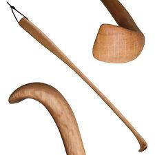 """Rückenkratzer """"Lea"""" 50 cm gebogen, Kratzhand, Buckelkratzer Hand aus Eichen-Holz"""