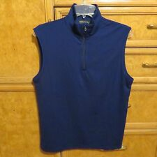 Women's Ralph Lauren polo golf zip sleeveless shirt navy blue size S NWT $89.50