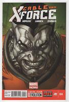 Cable & X-Force #4 (Apr 2013) [Deathlok, Domino, Nemesis] Hopeless Larroca Q
