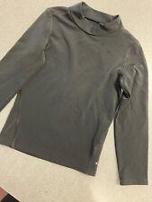 New listing girls champion shirt 6/6x duo dry black long sleeve
