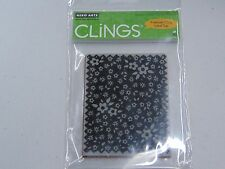 HERO ARTS EDGED FABRIC WITH FLOWERS CG247 CLING CLEAR RUBBER STAMPS NEW A1005