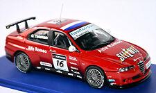 ALFA ROMEO 156 GTA WTCC 2007 #16 o tielemans ROJO RED 1:43 M4