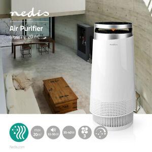 PURIFICATORE D'ARIA (CADR 130 m³/h) filtro HEPA 0,3 micron, 20mq Air Depuratore