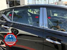 Fit:2019-2020 Nissan Altima Sedan 6Pc Chrome Pillar Post Stainless Trim Cover