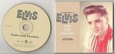 ELVIS PRESLEY rare oop cd FTD FAME AND FORTUNE 1960-1961 Nashville OUTTAKES