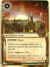Android Netrunner LCG - 1x NeoTokyo Grid  #021 - System Crash Corporation Draft