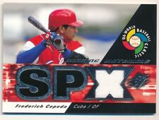 Frederich Cepeda 2006 Spx Winning Materials World Baseball Classic Jersey Sp F5