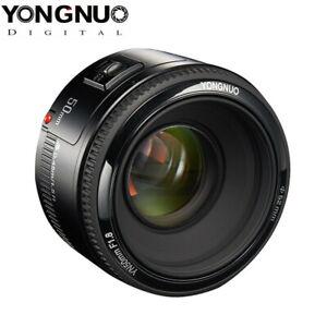 YONGNUO YN50mm F1.8 Auto Focus Full Frame Lens for Canon EOS EF DSLR Camera