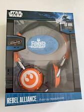 Star Wars Rebel Alliance Fold-Up Headphones New In Box