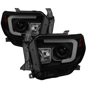 Spyder Auto 5080165 DRL Projector Headlights Fits 14-18 Tundra