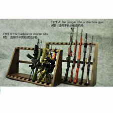 """Zytoys 1/6 Scale Gun Racks Rifle Stand Wooden For 12"""" Figure Scene Accessories"""