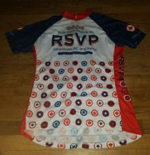 NICE 2010 PRIMAL Cycling Jersey Womens 3XL XXXL RSVP Seattle Vancouver BC CBC