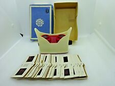 Vintage Russian Stereoscope No 3 with 18 Photo Inserts Cards in Original Box