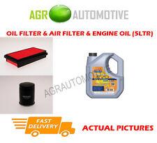 PETROL OIL AIR FILTER + LL 5W30 FOR HONDA ACCORD AERODECK 2.2 140 BHP 1991-93